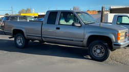1998 GMC Sierra 2500 HD Ext Cab 155.5