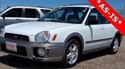 2002 Subaru Impreza Outback Sport