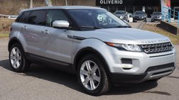 2012 Land Rover Range Rover Evoque Pure Plus