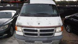 2000 Dodge Ram Van Conversion