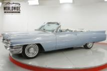 1963 Cadillac DeVille CONVERTIBLE AC PS PB PW V8 TONS OF CHROME