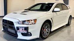 2013 Mitsubishi Lancer Evolution MR