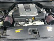 2012 Infiniti G37 Coupe Black interior with brushed aluminum trim