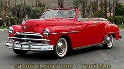 1950 Plymouth  Convertible