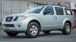 2010 Nissan Pathfinder S FE+