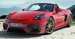 2022 Porsche 718 Boxster Spyder