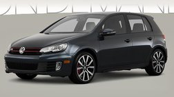2013 Volkswagen GTI Hatchback Sedan 4D