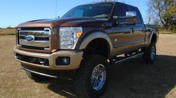 2012 Ford F-250 King Ranch Crew Cab 4WD