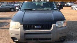 2001 Ford Escape XLS
