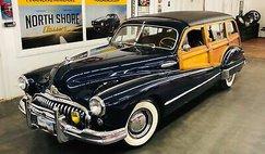1947 Buick Roadmaster -ESTATE WAGON - SUPER RARE WOODY - MECHANICALLY SO