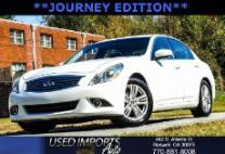 2011 Infiniti G25 Journey