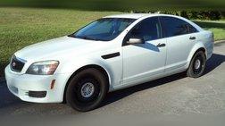 2013 Chevrolet Caprice Police