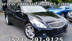 2012 Infiniti G25 x