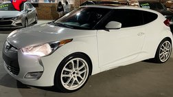 2014 Hyundai Veloster 3dr Cpe Man w/Red Int