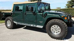 1997 AM General Hummer Open Top 4X4 2dr SUV