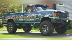 1990 Ford F-150 4X4 LIFTED OFF ROAD 5.0L 5-SPEED