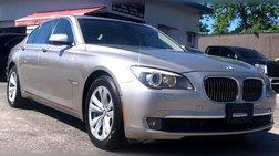 2012 BMW 7 Series 740i