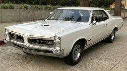 1966 Pontiac GTO 1966 PONTIAC GTO FACTORY 4 SPEED