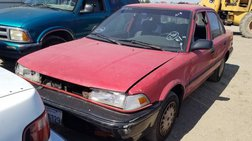 1990 Toyota Corolla Deluxe