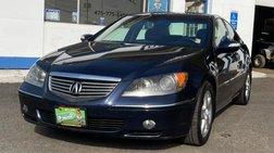 2006 Acura RL 4dr Sdn AT w/Tech Pkg (Natl)