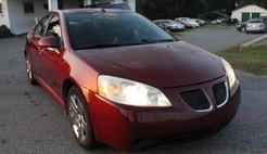 2009 Pontiac G6 Value Leader