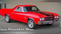1970 Chevrolet El Camino 6-Speed Tremec   396 V8   Bright Red
