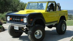 1972 Ford Bronco Super Duty 4X4 Eleanor