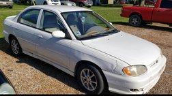 2001 Kia Sephia LS