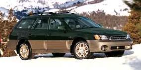 2002 Subaru Outback VDC