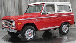 1977 Ford Bronco Numbers Match 302 V8 Restored Auto 4x4 Sport