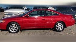 1999 Toyota Camry Solara SLE V6