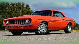 1969 Chevrolet Camaro Yenko Tribute body off new AMD sheet metal
