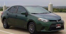 2014 Toyota Corolla LE Eco