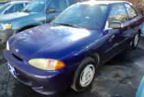 1995 Hyundai Accent Base