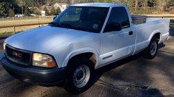 1998 GMC Sonoma SL Reg. Cab Short Bed 2WD