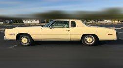 1978 Cadillac Eldorado Eldorado clean low mile coupe.