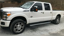 2015 Ford Super Duty F-250 Platinum