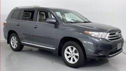2013 Toyota Highlander Sport Utility 4D