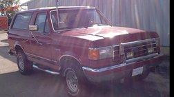 1991 Ford Bronco Custom