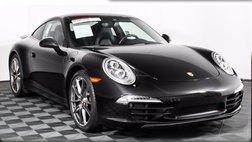 2016 Porsche 911 Carrera 4 Black Edition