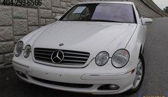 2000 Mercedes-Benz CL-Class CL 500