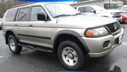 2002 Mitsubishi Montero Sport Sport LS