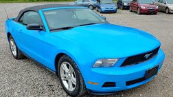 2010 Ford Mustang Premium Convertible 2D