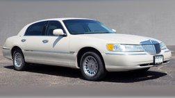 2002 Lincoln Town Car Cartier